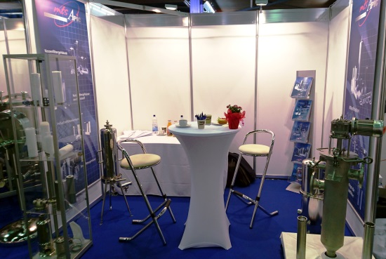 Messestand MTS & APIC